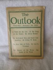 THE OUTLOOK Magazine January 24 1903 Negro Office-Holders Judge Taft China Drugs