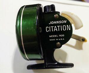 Vintage 1960s Johnson Citation model 110B Spincast reel. Beautiful.