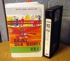 BAJKE DLA DZIECI CZ.1 Children's Polish VHS cartoons 1980s Zofia Oraczewska