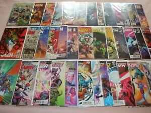 Extraordinary & Astonishing X-Men Lot of 41 Marvel X-Men Comics (2016)