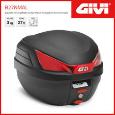 Valise / Coffre Givi Case B27NMAL Universel - Noir/Catadioptres Rouges
