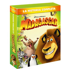 PELICULA BLURAY PACK MADAGASCAR LA HISTORIA COMPLETA PRECINTADA