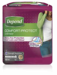 Depend For Women Absorbent Underwear Super Small/Medium - 1 Pack Of 10 Pants