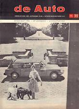 MAGAZINE DE AUTO 1965 nr. 31 - SUNBEAM CHAMOIS/HILLMAN IMP/GP DUITSLAND