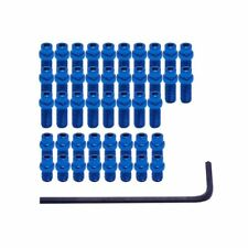 DMR Flippin 44 Steel Replacement Pedal Pins for Vault Pedals - Blue