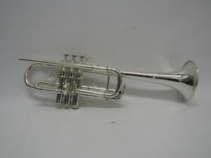 S.E. Shires C Trumpet TRQ11RS Silver Plated Finish w/ Deluxe Backpack Case