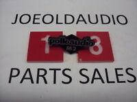 Polk M Series Speaker Grill Logo. Tested