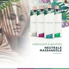 Massageöl Massage Massagemilch Partnermassage 500ml Spender & 4 Sorten Exotiq