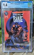 Batman: Vengeance Of Bane #1 - CGC 9.4 White Pages - 1st Appearance of Bane