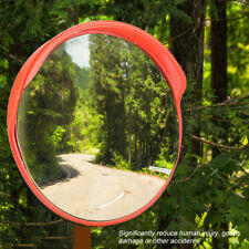 30cm Wide Angle Security Curved Convex Road PC Mirror Traffic Driveway Safety