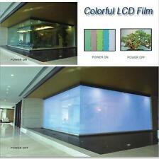 Inverter + 120X120cm Smart Film Electrochromic Film Switchable Glass PDLC Vinyl