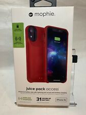 Mophie Juice Pack Access Battery Case for iPhone XR (Red 2000mAh)
