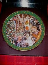 "HARRY POTTER 2001 ""MAGIC WILL HAPPEN"" 1st EDITION CHRISTMAS PLATE ! NEW !"