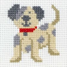 Anchor Beginners 1st Cross Stitch Kit - Toby Dog 10003