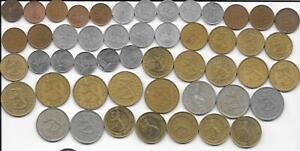 Dealer Flea Market Lot 50 Mix Date/Type Finland 1 5 10 20 50 Penni 1 MarkkaCoins
