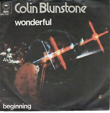 7inch COLIN BLUNSTONE wonderful  HOLLAND 1973  (S2250)