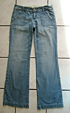 """Miss Me Jeans Faded Denim Flare Leg Womens Size 28 Pre-owned Waist 28"""" Retro"""