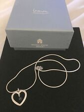 Architect Michael Graves Design Pendant .925 Sterling silver Heart + Necklace
