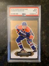 2016 Fleer Showcase #49 CONNOR MCDAVID ROOKIE.........PSA 9 MINT!
