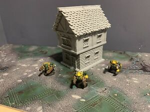 Warhammer 40k Age Of Sigmar Terrain Scenery 28mm House Building Cottage
