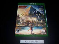 Replacement Case (NO  GAME) Assassin's Creed Origins XBOX ONE 1 XB1 Original