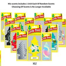 48 packs of Mixed Little Trees Air Freshener Scent Home Car Office Fragrance