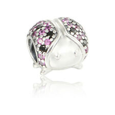 Brand New! Pandora Charm Sterling Silver Sparkling Ladybug CZ Bead 791484CFR