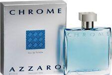 CHROME Azzaro Men's eau de Toilette EDT 3.4 oz