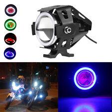U7 IP54 LED Motorcycle Light Headlight Spotlight Driving Fog Lamp 3 Modes 12-80V