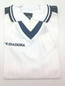 Size L Diadora Trevi Youth Jersey Soccer Futbol Shirt Sports Golf Italian Polo