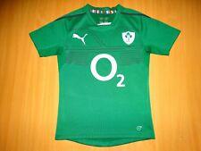 IRELAND 2013 2014 HOME PUMA IRFU RUGBY SHIRT JERSEY TOP TRIKOT camisa