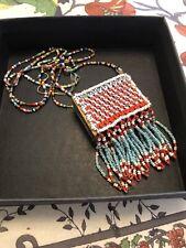 Reservation Made Matchbox Necklace