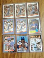 Darryl Strawberry Lot (12) Baseball Cards Topps & Donruss base & inserts see pic