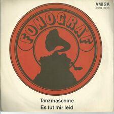 """FONOGRAF DDR AMIGA 7"""": TANZMASCHINE/ES TUT MIR LEID (456095)"""