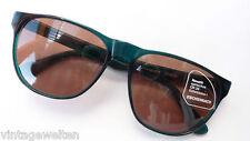 Eschenbach günstige Markensonnenbrille grün große Glasform unisex 100%UV  size L