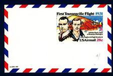 USA - STATI UNITI - Aerogramma - 1980 - First Transpacific