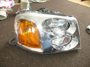 2002 - 2009 GMC Envoy Halogen Headlight Right Passenger RH USED 02 03 04 05 06
