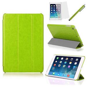 Tri-Fold Slim Smart Magnetic Leather Case for Apple iPad Air & Mini 1, 2 & 3