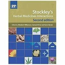 Stockley's Herbal Medicines Interactions: A Guide to the Interactions-ExLibrary