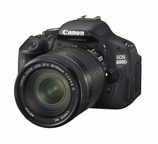 Canon EOS 600D 18.0MP Digital SLR Camera - Black (Body only)