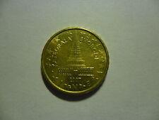 SLOVENIA 10 CENT. 2007 MONETA RICERCATA PER IL PRIMO ANNO D' ADOZIONE DELL'EURO