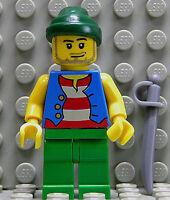 LEGO Piraten - Pirat mit blauer Weste und Degen / pi108 NEUWARE