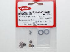 KYOSHO MINI-Z MDW018-01 BALL DIFF MAINTENANCE KIT AWD MA010