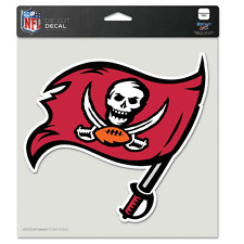 """TAMPA BAY BUCCANEERS LOGO 8""""X8"""" COLOR DIE CUT DECAL BRAND NEW WINCRAFT"""