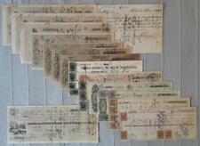 PERU USA lot 15 drafts exchange bills Henry Meiggs all different trade companies