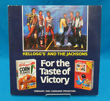 Kellogg's And The Jacksons For The Taste Of Victory Promo Picture Disc 1985 Epic