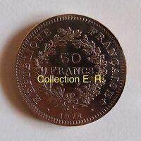 50 Francs Hercule 1974  Variété Avers de la 20 Francs