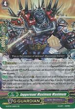 CARDFIGHT VANGUARD CARD: JUGGERNAUT MAXIMUM MAXIMUM - G-BT09/018EN RR