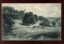 Derbyshire Haddon Hall artist F W Hayes Tuck  #1068 Vintage PPC