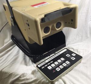 Vintage Vision Tester TITMUS 2N Optometry Optical Visual Acuity Screener Working
